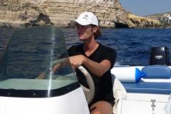 On the open sea of Malta