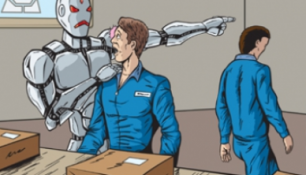 LAVORO E ROBOT